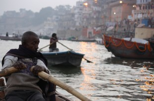 Evening boat ride, Varanasi copy