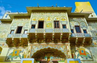 PAINTED HAVELI, MANDAWA copy