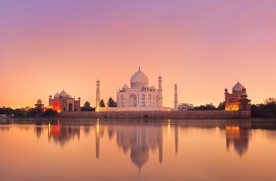 THE TAJ MAHAL IN THE EVENING LIGHT copy