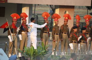 Wagah border ceremony, near Amritsar 5 copy